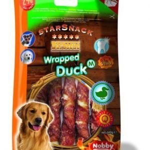Nobby Starsnack Duck Wrapped M 140g / 13cm