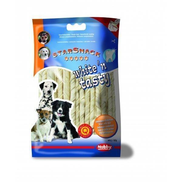Nobby Starsnack White N Tasty Sticks 12cm / 5g 30st