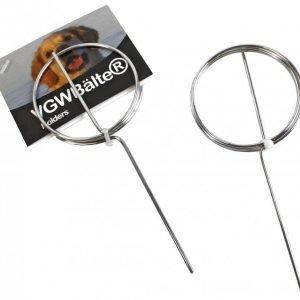 Novadog Metallinen Kilpiteline Maastoharjoituksiin 10 Kpl Pakkaus