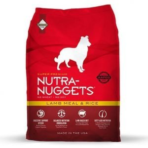 Nutra Nuggets Dog Lamb & Rice 15kg