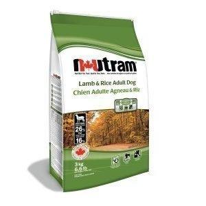 Nutram Utgående Nutram Lamb & Rice 15 Kg