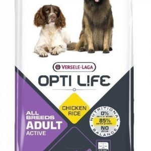 Opti Life Adult Active All Breeds 12