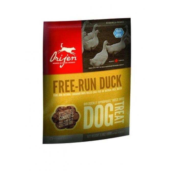 Orijen Dog Treats Brome Lake Duck 56
