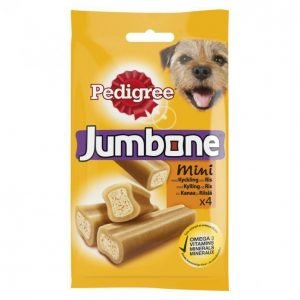 Pedigree Jumbone Koiran Puruherkku 180g Mini Kana-Riisi