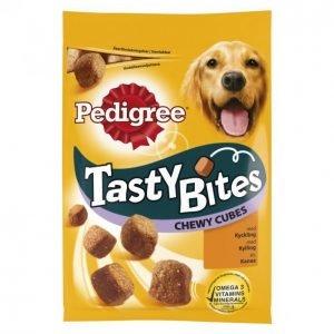 Pedigree Koiran Makupala 130 G Tasty Bites Chewycubes
