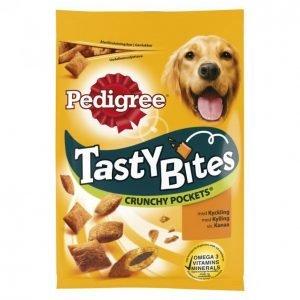 Pedigree Koiran Makupala 95 G Tasty Bites Crunchy Pockets