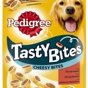 Pedigree Tasty Bites Cheesy Bites 140 G Makupala