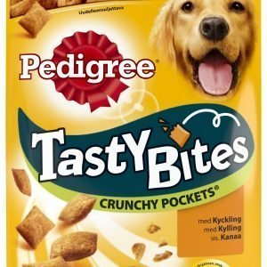 Pedigree Tasty Bites Crunchy Pockets 95 G Makupala