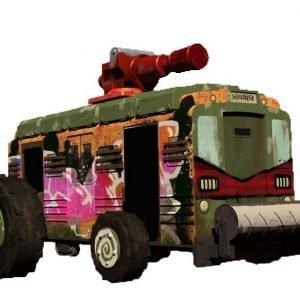 Penn Plax Ninja Turtles Shellraiser Van 10 Cm