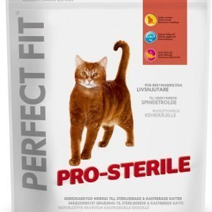 Perfect Fit Pro-Sterile Häränlihaa 750 G Kissan Ruoka