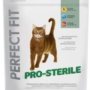Perfect Fit Pro-Sterile Kanaa 750 G Kissan Ruoka
