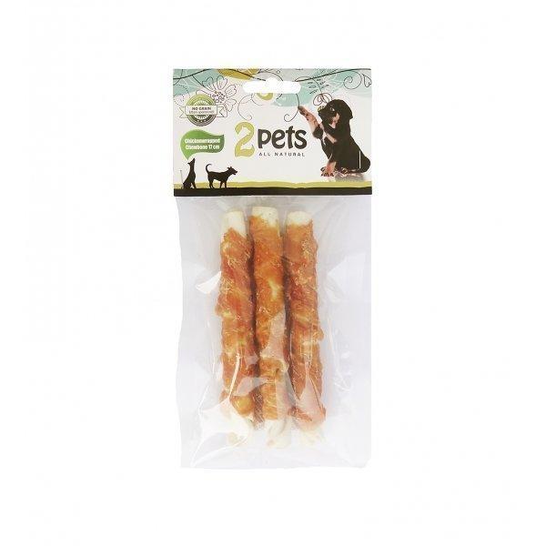Pet-Food 2pets Tuggpinne Med Kycklingfilé 17cm 3 Pack