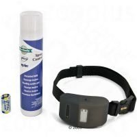 PetSafe Deluxe -haukunestopanta - suihkepantasetti + 2 hajustamatonta täyttöpakkausta