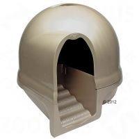 Petmate Booda Cleanstep -kissanvessa - titanium (helmiäisruskea)