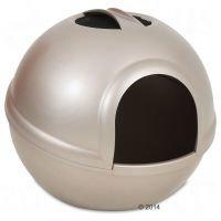 Petmate Booda Dome -kissanvessa - cappuccino (helmiäisruskea)
