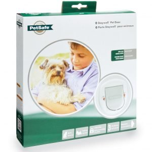 Petsafe Big Cat / Small Dog Pet Door Luukku Valkoinen