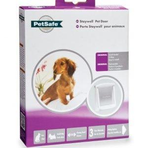 Petsafe Original Pieni Lemmikkiluukku Valkoinen 2 Lukitusmahdollisuutta