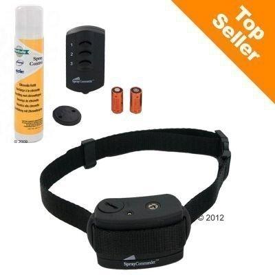 Petsafe Spray Commander -koulutuspanta - sitruunasuihkepanta + sitruunantuoksuiset täyttöpakkaukset (2 kpl) + lisäparisto