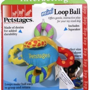 Petstages Mini Hundleksak Loop Ball