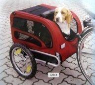 Polkupyöräkärry koiralle / koirakärry