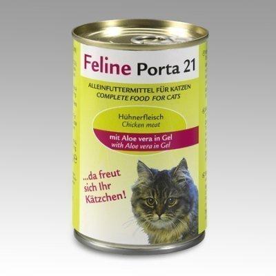 Porta 21 Feline Kana & Aloe Vera 400 G