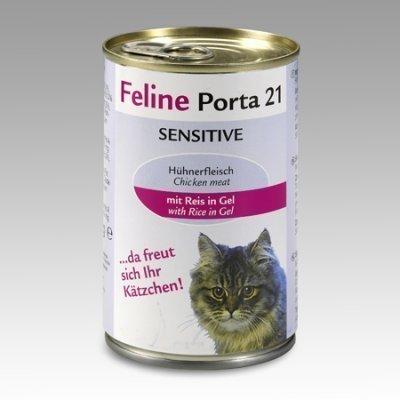 Porta 21 Feline Sensible Kana & Riisi 400 G