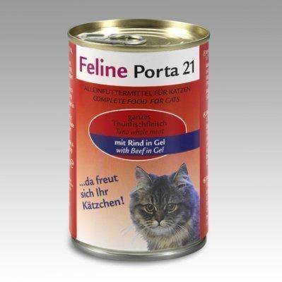 Porta 21 Feline Tonnikala & Pihviliha 400 G