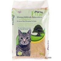 Porta Pine -mäntykissanhiekka - säästöpakkaus: 3 x 8 kg