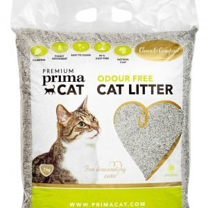 Premium Primacat Clean & Compact Odour Free 7 Kg Mikrohiekka