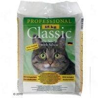 Professional Classic -kissanhiekka hajuneutralisoijalla - säästöpakkaus: 2 x 15 kg