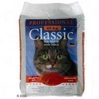 Professional Classic -kissanhiekka vauvantalkintuoksuisena - säästöpakkaus: 2 x 15 kg