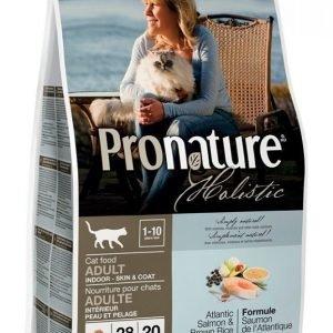 Pronature Holistic Cat Atlantin Lohi & Tumma Riisi 2