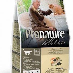 Pronature Holistic Cat Senior White Fish & Wild Rice 2