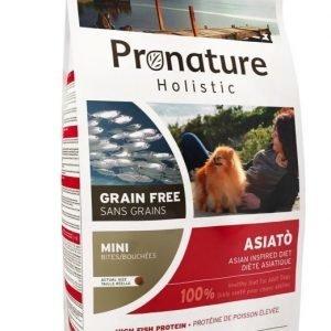 Pronature Holistic Dog Adult Asiatò Mini Bites 6 Kg