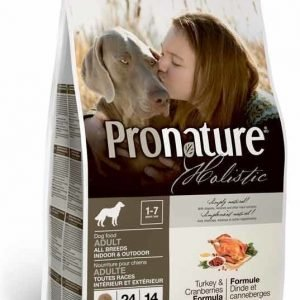 Pronature Holistic Dog Adult Turkey & Cranberries 13