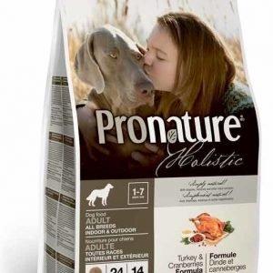 Pronature Holistic Dog Adult Turkey & Cranberries 13
