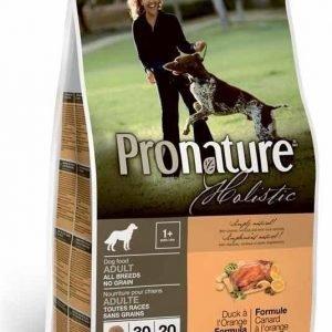 Pronature Holistic Dog Duck No Grain 13