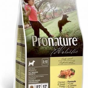 Pronature Holistic Dog Puppy Chicken & Sweet Potato 13