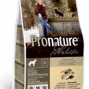 Pronature Holistic Dog Senior White Fish & Wild Rice 13