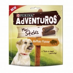 Purina Adventuros 90 G Mini Sticks -purutikut Koirille
