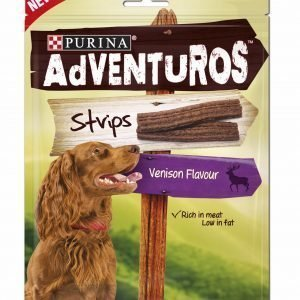 Purina Adventuros 90 G Strips-Makupalat Koirille