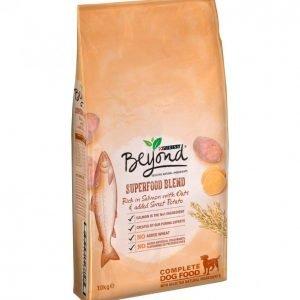 Purina Beyond Koiranruoka 10 Kg Runsaasti Lohta Sisältää Kauraa + Bataattia
