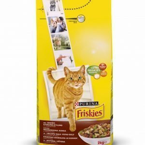 Purina Friskies Adult  2 Kg Naudanlihaa