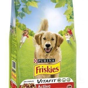 Purina Friskies  Adult 4 Kg Runsaasti Lihaa Koiranruoka