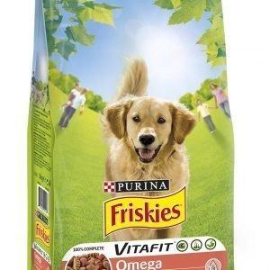 Purina Friskies Omega 3 Kg Naudanlihaa & Kalaa Koiranruoka