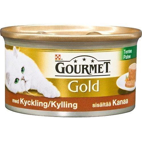 Purina Gourmet Gold Kycklingpaté 24x85g