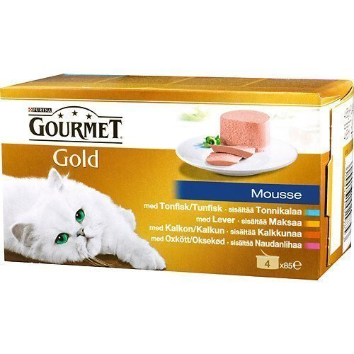 Purina Gourmet Gold Mousse Selection 4x85g
