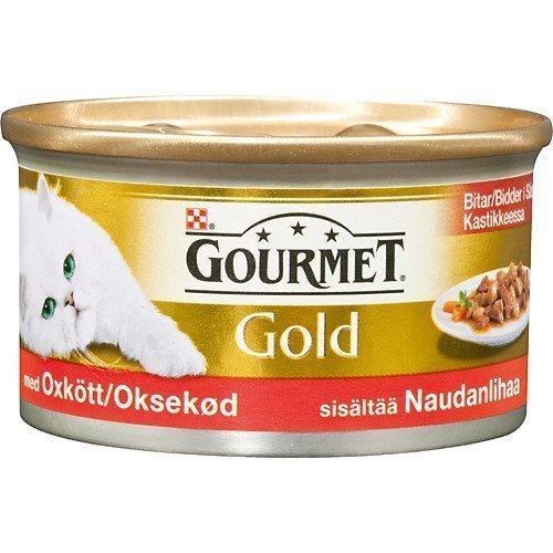 Purina Gourmet Gold Oxkött I Sås 12x85g