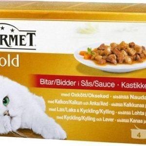 Purina Gourmet Gold Sauce Selection 4x85g
