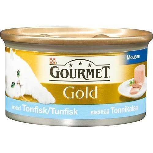 Purina Gourmet Gold Tonfisk Mousse 24x85g